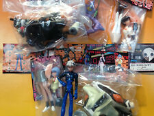 "Set Of 6 Sega Evangelion Angel Sachiel Gashapon Vinyl 3"" Figures Bandai Eva ""96"
