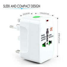 ALL IN 1 EU AU UK US All in One Universal Travel Wall Adapter Power Converter