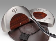 Caney Putterworks M11 Mallet Golf Putter with Cocobolo Wood Core