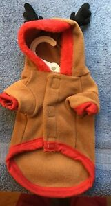 Reindeer Dog Coat NWT Size XS From Happy Paws