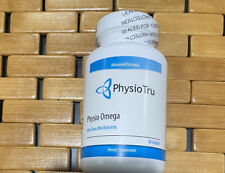 Physio Omega  by PhysioTru, Inc. 60 Soft-gels Capsules - New Sealed