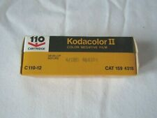 Vintage Kodak C110-12  Kodacolor II 110 Film Expired 4/1981 New Sealed