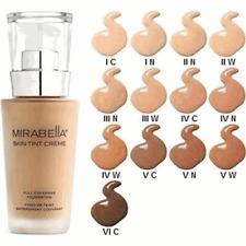 Mirabella Skin Tint Crème Full Coverage Liquid Mineral Foundation  1 N