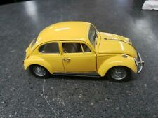 Franklin Mint 1967 Volkswagen Beetle Diecast Yellow