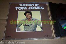 Tom Jones (The Tiger) USA PDO 1990 CD The Best Of 22 Songs Heartland