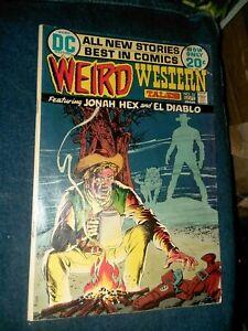 Weird Western Tales #13 dc comics 1972 4th Jonah Hex Neal Adams Art 1st print!
