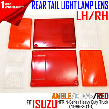 isuzu elf npr nkr nhr nlr truck 1986-2013 rear tail light universal lamp  lens