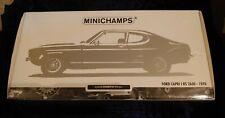 Minichamps 1/18 Ford Capri limited edition.