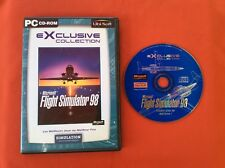 FLIGHT SIMULADOR 98 MICROSOFT EXCLUSIVO COLECCIÓN PC CD-ROM PAL EN SU CAJA VF
