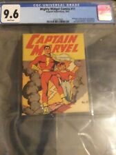 Mighty Midget Comics 11 Captain MARVEL 1942 Cgc 9.6 78 Years OLD 2nd Highest Gra