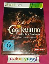 CASTLEVANIA LORDS OF SHADOW COLLECTOR XBOX 360 VERSION ALLEMANDE NEUF SCELLE