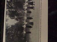 m5-2g ephemera 1912 picture villa dieudonne basketball girls bois de boulogne