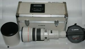 [Near Mint- in Trunk] CANON Lens EF 600mm F/4 L USM w/ Lens Hood From Japan