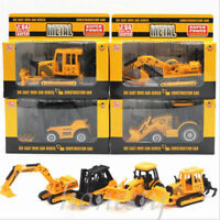 1:64 Tractor Excavator Digger Forklift Diecast Construction Vehicle Truck Modle