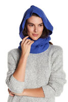 NEW Free People Carabasset Hand Knit Shawl Scarf Pom Tassels One Size XS S M L