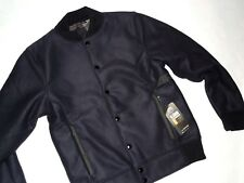 Under Armour mens Tactical Armed Forces Cold Gear Black bomber jacket sz Small