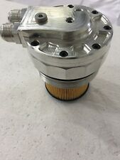 BMW Oil cooler radiator adapter FILTER CAP conversion AN fitting M54 M52tu M52
