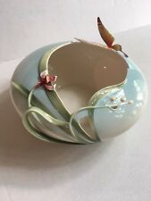 Franz Beautiful Porcelain  Bowl Papillon Butterfly Perfect FZ00055 Platter Plate