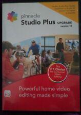 PINNACLE STUDIO PLUS upgrade DVD - CD versione 10  PC edizione HD Aggiornamento
