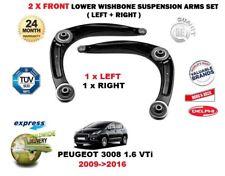 pour Peugeot 3008 1.6 VTI 2009- > avant droite gauche BRAS DE SUSPENSION