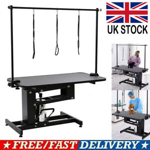 Extra Large Height Adjustable Hydraulic Pen Dog Grooming Table Heavy Duty Z Lift