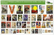 DioDump DD078-A Dutch & Belgian political & commercial media posters ww2 - 1:35