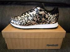 NEW Womans Reebok Classic Leather Hijacked Heritage Rose Gold & Black RRP$139