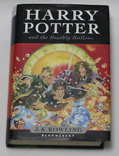 HARRY POTTER AND THE DEATHLY HALLOWS 7th Book J.K. Rowling 1st Ed. Great Britain