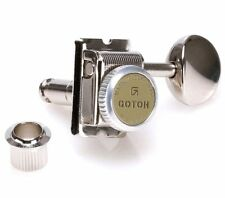 New set of 6 Gotoh SD91-MGT 6-in-line Vintage Style Locking Tuners - Nickel