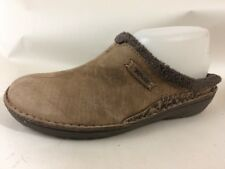 d0bdd0e21fb9 TEVA KIRU Beluga Nubuck Mules Womens 7 M Slip On Lined Tan Brown Lined Shoe  4060