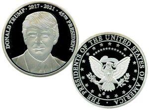 DONALD TRUMP MAKE AMERICA GREAT AGAIN COMMEMORATIVE COIN PROOF VALUE $99.95