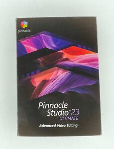 NEW! Pinnacle Studio 23 Ultimate Ml Eu Windows In