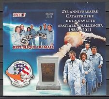 / Mali, 2011 issue. Challenger Space, IMPERF s/sheet.
