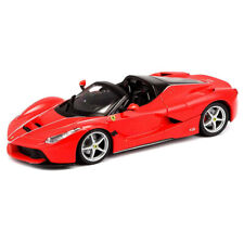 Bburago 1:24 Ferrari Race & Play LaFerrari Aperta Open Roof Car Replica Toy Red