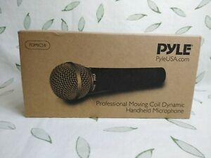 Pyle Professional Moving Coil Dynamic Handheld Microphone PDMIC58