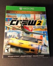 The Crew 2 GOLD Edition [ STEELBOOK Package ] (XBOX ONE) NEW