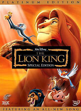 Lion King - Arabic DVD movie cartoon Egyptian dialect with english subtitles