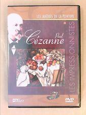 DVD / LES MAITRES DE LA PEINTURE / PAUL CEZANNE / TRES BON ETAT