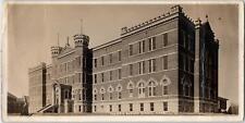 RPPC CARROLL, IA Iowa    DOMESTIC SCIENCE SCHOOL   c1910s 7 inch Long  Postcard