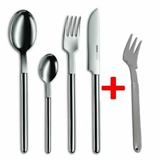 Mono Cutlery Mono Oval Stainless Steel Brillant Polished 24 Piece +6 Cake Forks