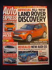 Auto Express - 1442 -  Honda Civic - Land Rover Discovery - Q5 - X2 - Micra