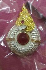 Naga Eye Buang Nakkhabat Thai Amulet LP Nen Kaeo Charm Talisman Passion Magic