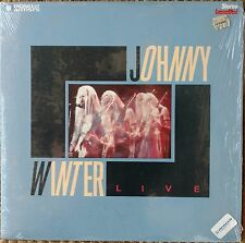"JOHNNY WINTER Laserdisc Live Concert LD in shrink ""Rock N Roll Hoochie Koo"""