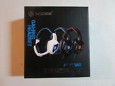 New Sades Spirit Wolf Gaming Headset