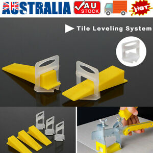 400-4000PCS Tile Leveling System Clips Levelling Spacer Tiling Tools Floor 1.5MM