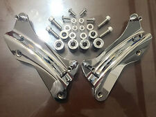 Chrome 4 Point Docking Hardware Kit For Harley Davidson Touring 2014 2015 2016