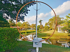 OUTDOOR! High Power Multiband Magnetic Loop Antenna 17-40 Mts OR INDOOR!