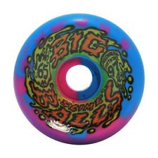 Santa Cruz Slime Balls Big Balls Skateboard Wheels 65mm 97a Blue/Pink Swirl