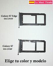 """Bandeja Nano Sim y Sd para """"Samsung Galaxy S7 / S7 Edge""""  Soporte Ranura Memoria"""