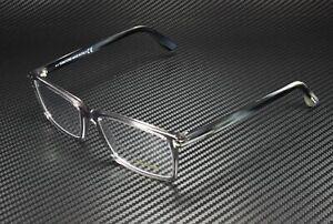 Tom Ford FT5408 020 Grey Clear Lens Plastic 56 mm Men's Eyeglasses